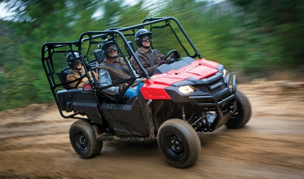 deluxe specs accessories more vehicle features by pioneer atv honda utility review utv side sxs