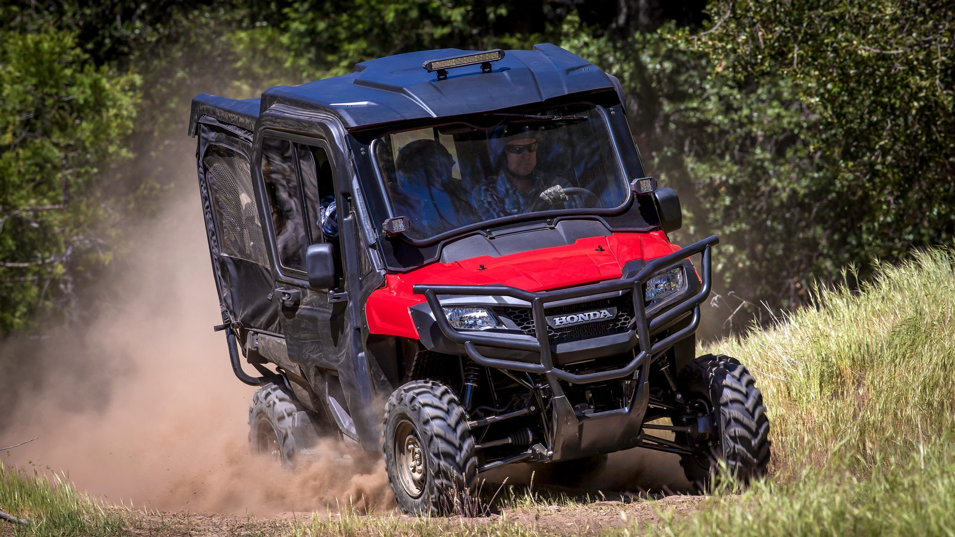 The Red Pioneer 7004 Equipped With Hard Roof Glass Windshield And Fabric Front: ATV Led Wiring Diagram At Johnprice.co